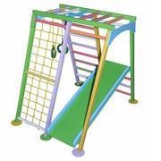Детский спортивный комплекс Космолет цветной