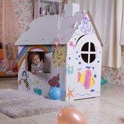 Картонный домик для детей.