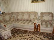 Мягкий уголок+кресло-кровать+пуфик.