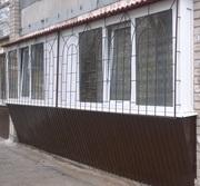 Балконы под ключ-11450грн, разварка,  окна,  французские балконы.Гарантия