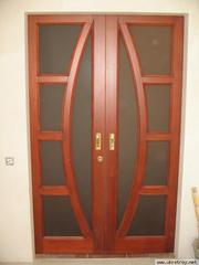Деревянные двери под заказ в Запорожье