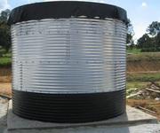 Резервуары накопительные на 50,  100,  200,  500 м3 и более