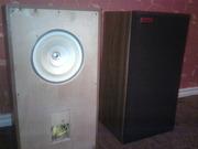 Аудиоколонки винтажные CORAL FLAT-6 1979 г.