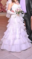 Срочно! Продам счастливое свадебное платье !