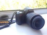 Фотоаппарат Nikon D5100+карта памяти на 32GB