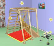 Детский игровой комплекс Астронавт сосна,  спортивный уголок