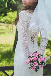 Свадебное плате для самой красивой невесты
