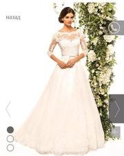 Свадебное платье и фата Dominiss