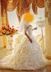 Свадебное платье - очень нежное