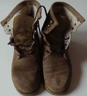 Ботинки кожа женские