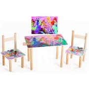 Детский столик и стульчики Винкс
