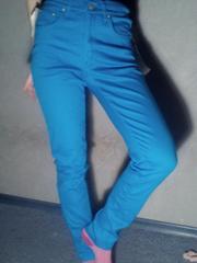 Синие брюки