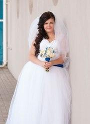 Продам шикарное свадебное платье,  размер 52-56