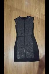 Шикарное черное коктейльное мини платье Incity