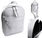 Рюкзак женский кожаный Victoria белый