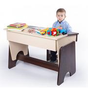 Письменный двухцветный стол и стул детский Соня