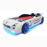 Детская кровать-машина Roadster full ( белый)
