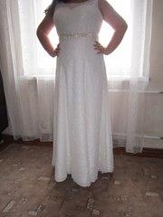 Свадебное платье модель Астра цвет Айвори.