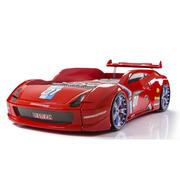 Кровать-машина Хtreme M7 (красная,  белая)