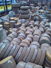 Поковки круглые сталь 55 (конструкционная углеродистая качественная)
