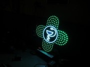 Изготовление аптечный крест анимационный светодиодный кресты для аптек