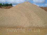 Песок,  доставка от 20 тонн