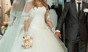 Продам свадебное пышное платье