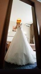 Свадебное платье ТМ Rozmarini,  айвори (б/у)