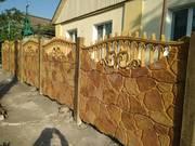 Железобетонный забор заказать в Запорожье