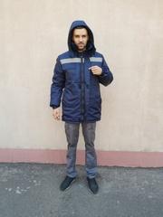 Куртка зимняя модель Оксфорд -  продажа от производителя