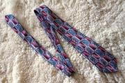 Стильный розовый галстук с узором