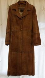 Женское кожанное пальто Pacco