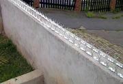 Накладка на забор Ежачок (ТМ). Колючая полоса для охраны периметра
