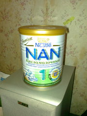 Продам сухую кисломолочную смесь NAN 1